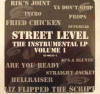 Street Level The Instrumental LP Vol Vinyl