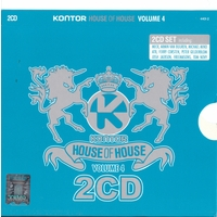 Kontor House Of House Volume 4 Romanian Edition - Cd 1