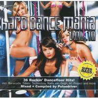 Hard Dance Mania Vol 10 Mixed By Pulsedriver (Cd 2)