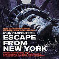 Escape from New York (1981) , New Expanded Edition , Original Film Soundtrack Remastered