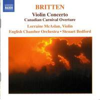 Benjamin Britten Piano And Violin Concertos (Steuart Bedford, English Chamber Orchestra)